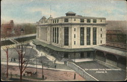 New Lackawanna Station, Showing Approaches Postcard