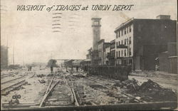 Washout of Tracks at Union Depot
