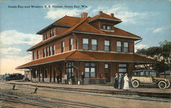 Green Bay and Western R. R. Station