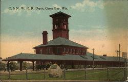 C&NW RR Depot