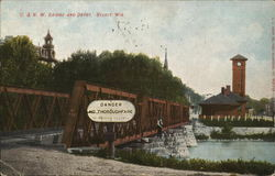 C. & N.W. Bridge and Depot