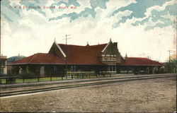C.M. & St. paul Ry. Station