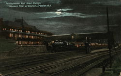 Pennsylvania Rail Road Station - Western Flier at Station