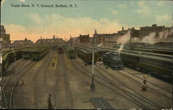Train Shed, New York Central Railroad