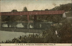 CM & St. Paul Bridge over Kishwaukee River