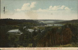 Cattaraugus Creek From B.R. & P. Ry., Cascade Park