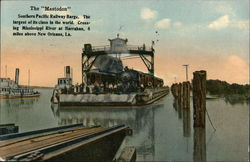 Southern Pacific Railway Barge - The Mastodon