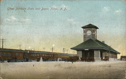 Great Northern Train and Depot