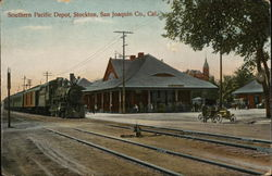 Southern Pacific Depot--San Joaquin Co.