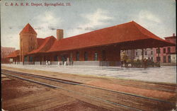 Chicago and Alton Railroad Depot