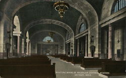 Michigan Central Station - Waiting Room
