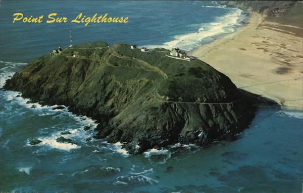 Point Sur Lighthouse California Randy Larson Lighthouses
