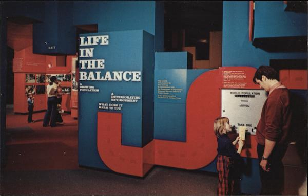 Life in the Balance, Museum of Science Boston Massachusetts