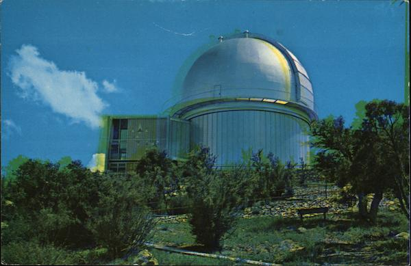 84-Inch Telescope Dome Kitt Peak Arizona Dick Parrish