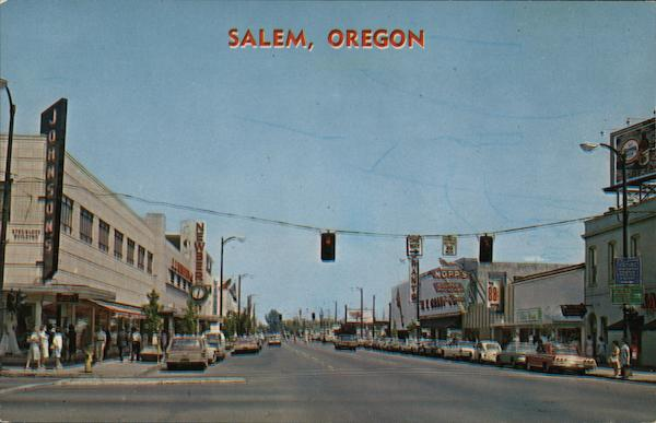 Oregon's Capital City Salem Ken Vermillion