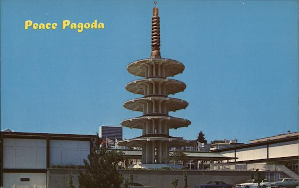Peace Pagoda San Francisco California