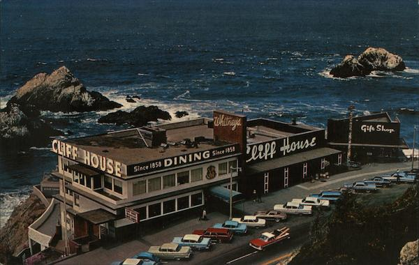 Cliff House and Seal Rocks San Francisco California