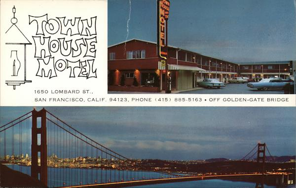 Town House Motel San Francisco California