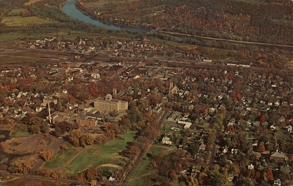 Aerial View of Sayre, Pennsylvania Joe Kast