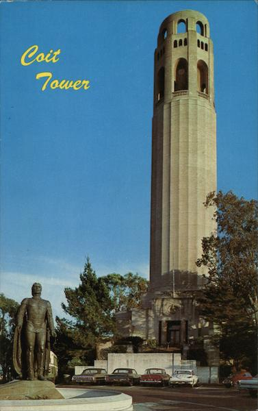 Coit Tower San Francisco California Sandor Balatoni