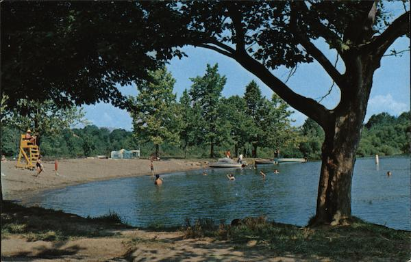 Pymatuning State Park - Beach, Camping Area Andover Ohio