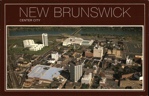 Aerial View of Middlesex County New Brunswick New Jersey