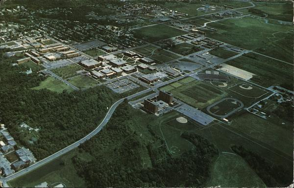 Aerial View, Mankato State University Minnesota