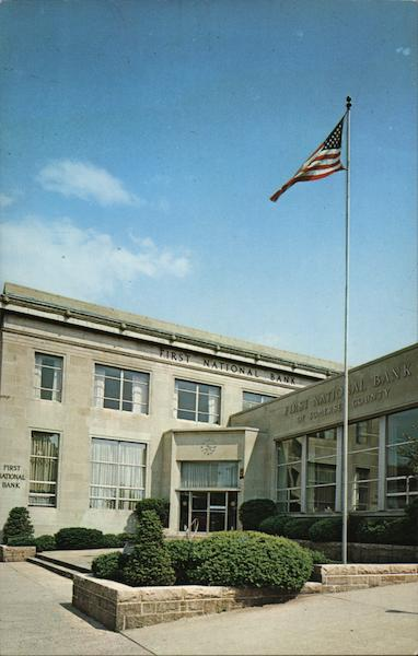 Bound Brook Office of the First National Bank of Somerset County New Jersey