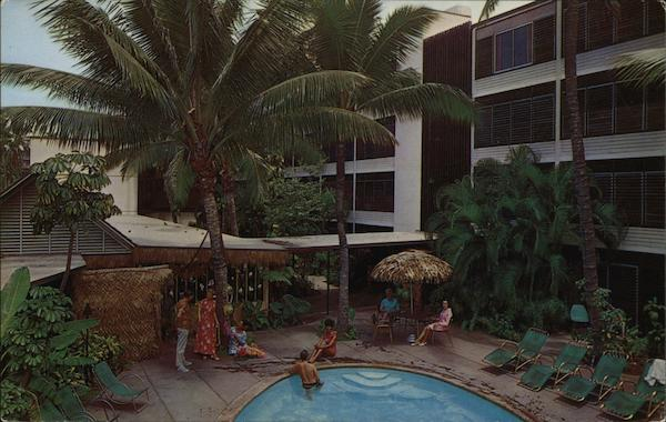 Kuhio Palms Hotel Waikiki Hawaii