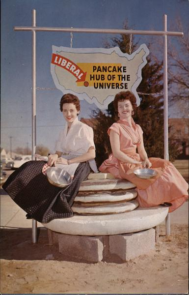 Pancake Hub of the Universe Liberal Kansas Kennedy Studio
