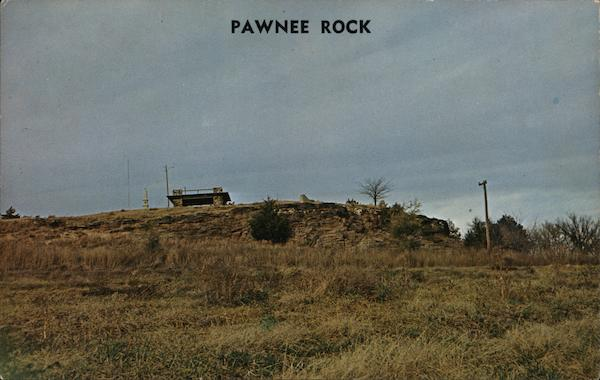 Pawnee Rock Kansas Brinkman of Lyndon Native Americana