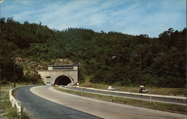 Pennsylvania Turnpike, Allegheny Tunnel