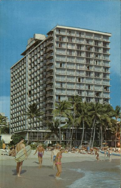 Outrigger Hotel, Waikiki Honolulu Hawaii