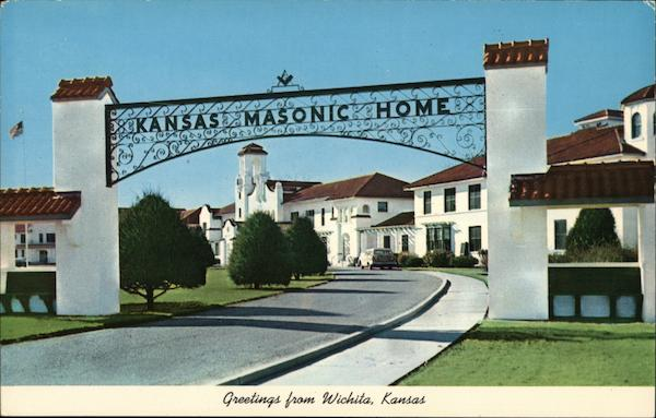 Kansas Masonic Home Wichita Freemasonry