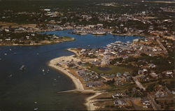 Aerial View of Hyannis Harbor