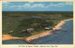 Aerial View of Squaw Island