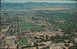 Aerial View of Colorado State University