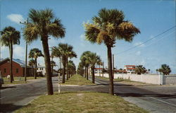 Waterfront Avenue on Tybee Island Beach Resort