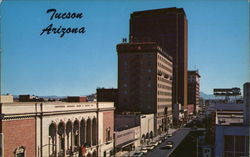 Downtown Tucson, Looking South onto Stone Avenue
