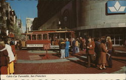 Cable Car Turntable, Powell and Market Street