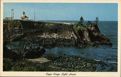 Cape Arago Light House Postcard