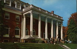 Seibert Hall at Susquehanna University Postcard
