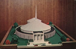 Model of $1.7 Million Chapel Auditorium, Susquehanna University Postcard