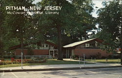 McCowan Memorial LIbrary Postcard