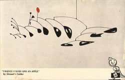 """Twenty Leaves and An Apple"" by Alexander Calder"