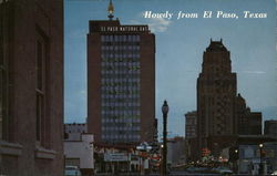 Howdy From El Paso Postcard