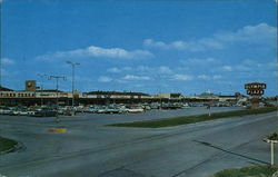 Olympia Plaza Shopping Center Postcard