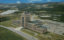 Aerial view of Confederation Building
