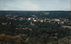 Birds Eye View of Town