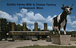 Schlitz Farms Milk & Cheese Factory Postcard